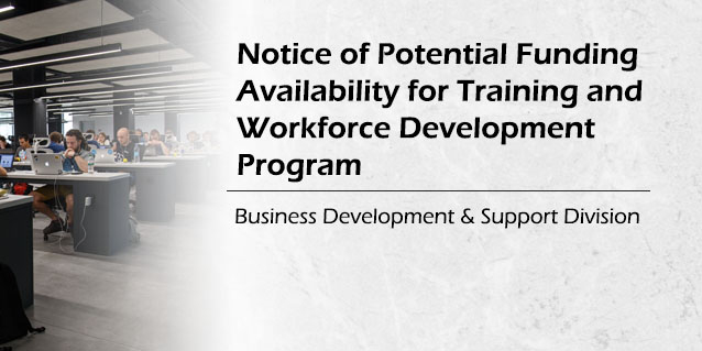 Training and Workforce Development