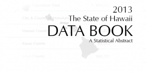 2013 State of Hawaii Data Book