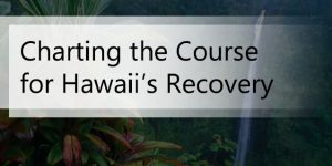Charting the Course for Hawaii's Recovery