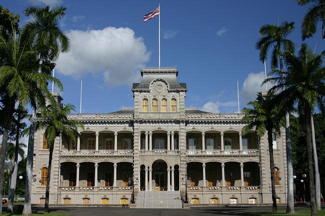 Iolani Palace - Oahu