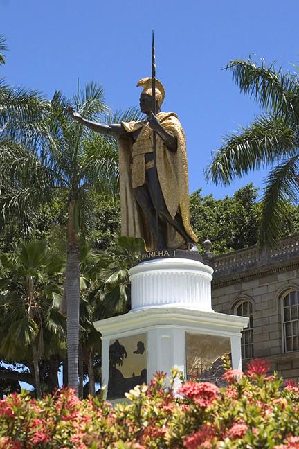 Kamehameha Statue - Oahu