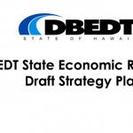 DBEDT State Economic Recovery Draft Strategy Plan