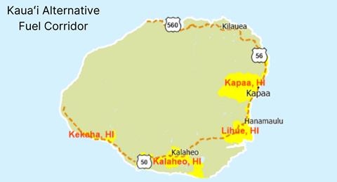 Kauai Alternative Fuel Corridor